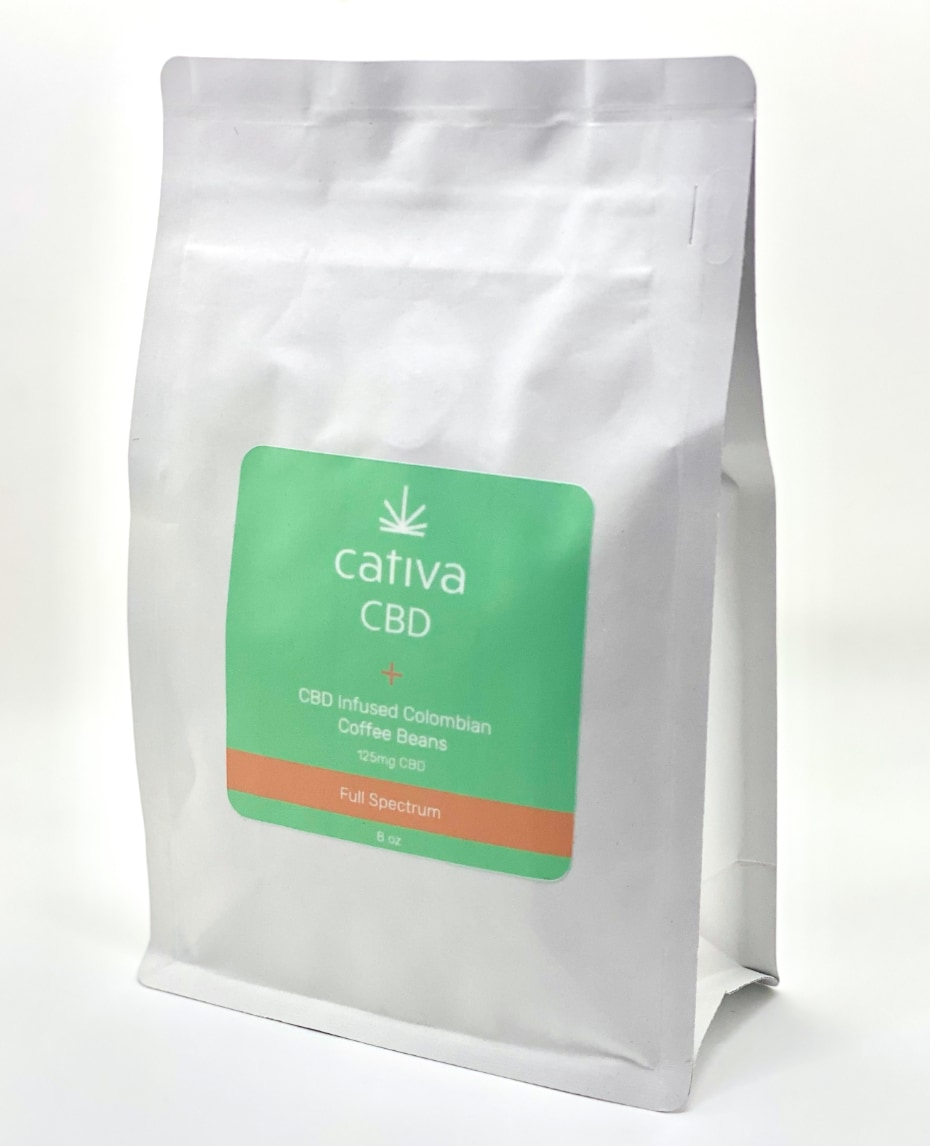 Plus CBD Infused Coffee Beans